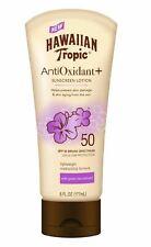 Hawaiian Tropic Anti Oxidant Sunscreen Lotion Lightweight Sun Protection Spf 50