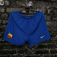 Barcelona Home football Shorts 2006 - 2007 Blue Polyester Mens Size S