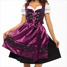052.- Dirndl Oktoberfest German Austrian Dress - Sizes: 6.8.10.12.14.16.18.20.22