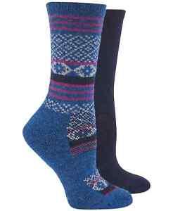 Hue Women's 2-Pk. Wool Blend Boot Socks One Size