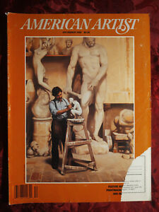 AMERICAN ARTIST December 1988 C. Daniel Graves Jack Riggio Clare Smith
