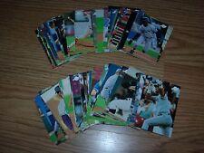 Lot of 63 different 1996 Fleer Excel Minor League ERROR cards