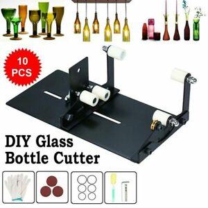 DIY Glass Bottle Cutter Adjustable Sizes Metal Glassbottle Cut for Crafting 10pc