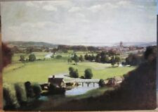 Art Postcard JOHN CONSTABLE Painting VALLEY OF THE STOUR UK Landscape England