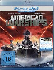 AMERICAN WARSHIPS - 3D Blu-Ray - + 2D Version -