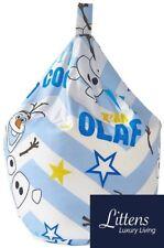 Disney Frozen Olaf Childrens Kids Bean bag Beanbag Seat, Filled, Snowman, Blue