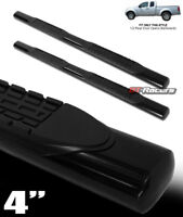 """For 2005-2020 Frontier King Cab 4"""" Oval Black Side Step Nerf Bars Running Boards"""