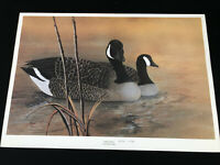 Canadian Geese II Signed Numbered Print by Patt Whipp With COA