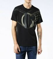 Brand New Diesel Men's T-JOE-MA T-Shirt Black. Size:S, M, L, XL, 2XL RRP: £90.00