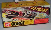 Corgi Toys Product 107 Batboat empty Reproduction Box for Batman & Robin