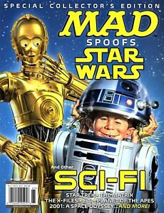 MAD MAGAZINE SPOOFS STAR WARS (Special) ~ Comedy & Humor ~ SCI-FI ~ New