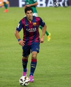 Barcelona Shorts Age 8-10 Football Home Blue