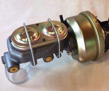 """1968-74 Chevy Nova 7"""" power brake booster master cylinder disc drum valve"""