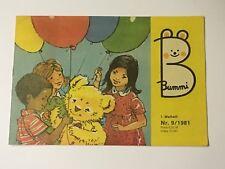 DDR Kinder und Jugend Zeitschrift Bummi Heft 19 1989