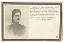 Elisabeth (Sissi, Sisi) AK, Postkarte Ihrer Majestät Kaiserin v. Österreich