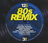 12 Inch Dance 80s Remix Various Artists CD New (3 Discs)