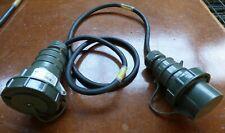 Bals Elektrotech. Stecker 21221 IP67 Stecker Verlängerungskabel BW Nato Kabel