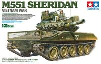 Tamiya US Airborne Tank M551 Sheridan Vietnam War 1:35 scale model kit new 35365