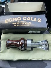 Echo Duck Calls Blue Diamondwood Timber Double Reed New In Box! Rare!