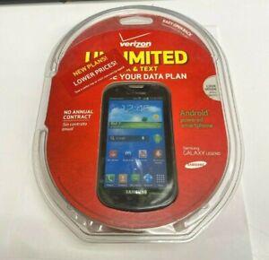 Samsung Galaxy Legend SCH-I200 - 4GB - Black (Verizon) Smartphone - PREPAID ONLY