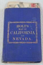 Holt's Map of California and Nevada  Pub. by Warren Holt, San Francisco, 1876