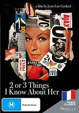 2 or 3 Things I Know About Her (DVD, 2017)