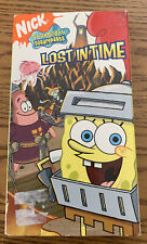 Nickelodeon SpongeBob Squarepants Lost in Time VHS tape