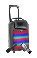 Ibiza Power DEL MK2 Batterie Portable Sound System Inc Wireless Handheld Mic