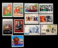 United Nations Geneva Complete year 1987 151-161 MNH
