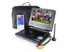 "Envizen ED8850B Digital Portable TV DVD Player 7"" w Carrying Case &  Car ADAPTER"