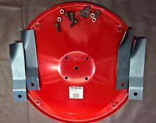 Genuine Cox Lawn Mower Blade Carrier Disc AM76H7 & Blades SKIT55 - Fits 32 Inch