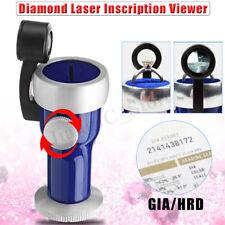 20X Diamond Gem Laser Inscription Reader Code Viewer Loupe Magnifier Lens Tool