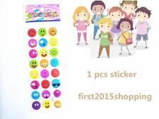 Smiley sticker Paper Crafts 100% NEW Kids Favorite Amazed Birthday Kindergarten