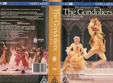 THE GONDOLIERS - Australian Opera  VHS-PAL-N&S-Never played!-Original Oz release
