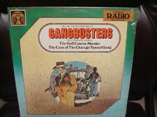 GANGBUSTERS RADIO BROADCAST RECORD LP