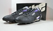 Vintage 90s Mitre New Mens 10.5 Select MP FG Soccer Football Shoes Cleats Black