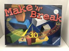 Ravensburger Make 'N' Break board game NEW SEALED