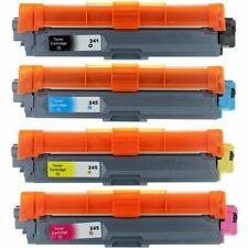 4 toner COMPATIBLE para Brother HL-3140 CW HL-3150 CDN HL-3150 CDW TN241 / TN245