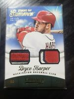 2014 Panini Classics Start Of Summer Patch Bryce Harper #1/10 RARE! 2 CARDS