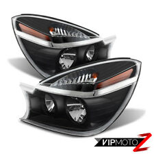 2004 2005 Buick Rendezvous Black 3.4L 3.6L Headlights Lamps Replacement Assembly