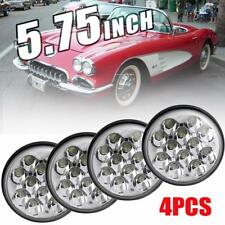 "5.75 5-3/4"" H5001/H5006 Round Cree LED Headlight Crystal Clear Hi/Lo Sealed Beam"