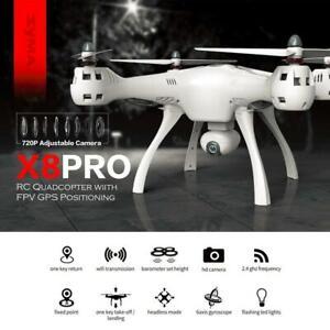 SYMA X8PRO GPS DRONE WIFI FPV with 720P HD Camera Adjustable Camera