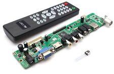 V29 Universal LCD Control Tarjeta TV Placa Base VGA HDMI AV TV USB Interface