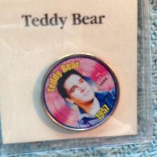 "NOS ELVIS PRESLEY MYSTIC STAMP COLORIZED QUARTER TOP 40 HITS ""TEDDY BEAR"""