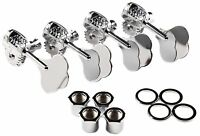 Genuine Fender F Stamp American Std/Deluxe P/J Precision/Jazz Bass Tuners Set