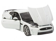 1:24 Scale Jaguar XKR-S White Diecast Car Model Die Cast Cars Models Miniature