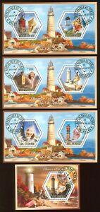 Marine Shells Lighthouses 4s/s 2014