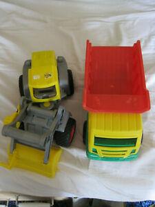 Kinderspielzeug, 1 Kipper, 1 Bagger, Bulldozer, Wader, Wadertoys