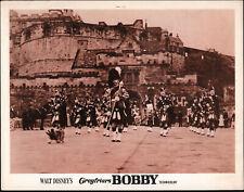 Greyfriars Bobby 11x14 Skye Terrier original Disney 1961 movie lobby card poster