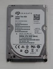 SEAGATE Thin HDD 500GB SATA 5400rpm 2,5 Zoll 7mm Bauhöhe 16Mb cache ST500LT012